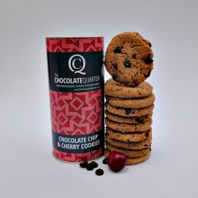 Biscuit Chocolate Chip Cherry Tube