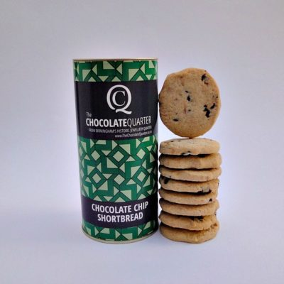 Biscuit Chocolate Chip Shortbread Tube