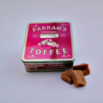 Farrah's Toffee Tin