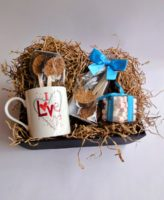 hot chocolate spoons hamper