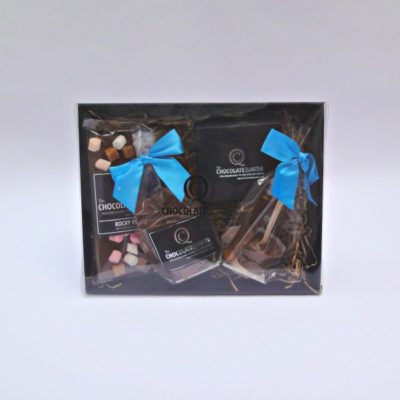 luxury chocolate taster hamper closed