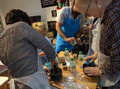 Bean to Bar Experience demonstration