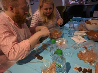 Chocolate Truffle Making Experience Guests