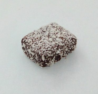 coconut passion chocolate truffle