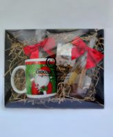 hot chocolate spoon hamper closed