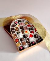 Large Velvet Heart Valentines Chocolates 2