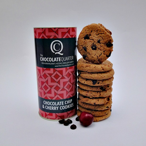 Cookie Policy: Chocolate Chip Cherry Cookies