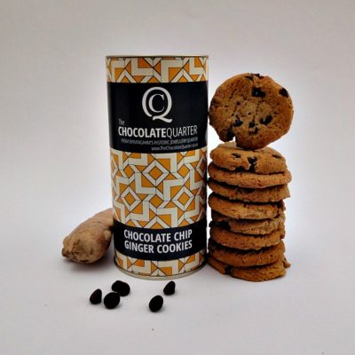Biscuit Chocolate Chip Ginger Tube