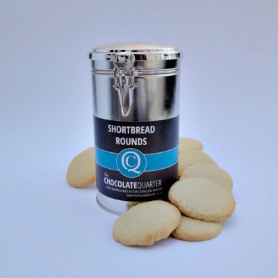 Biscuit Shortbread Clamp Lid Canister