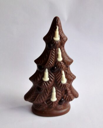 giant chocolate christmas tree