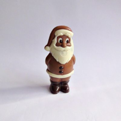 medium chocolate santa