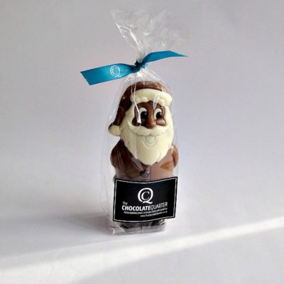 medium chocolate santa closed