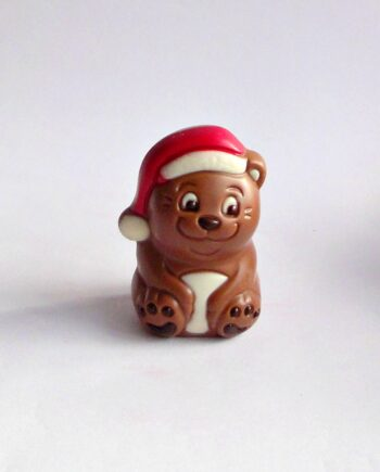 small chocolate christmas bear