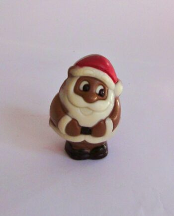 small chocolate christmas santa
