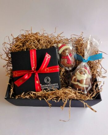 small luxury chocolate christmas hamper