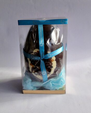 Hot Cross Bun Chococlate Easter Egg Boxed