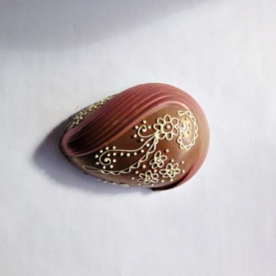 Peacock Milk Chocolate Easter Egg