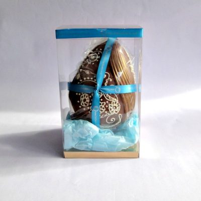 Peacock Milk Chocolate Easter Egg Boxed