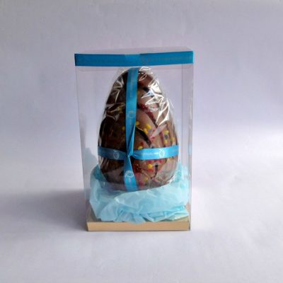 Popping Candy Milk Chocolate Easter Egg Boxed