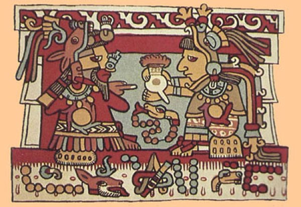 The Aztec cocoa