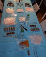 Chocolate Truffle Making Experience Table