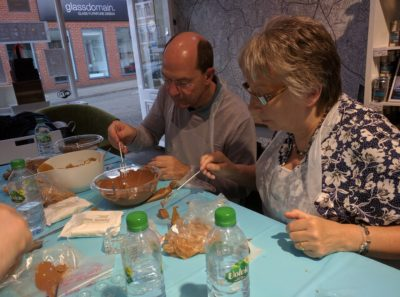 Chocolate Truffle Making Experience Guests 2