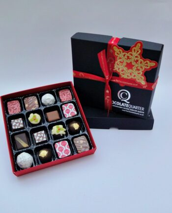 box of 16 luxury christmas chococlates