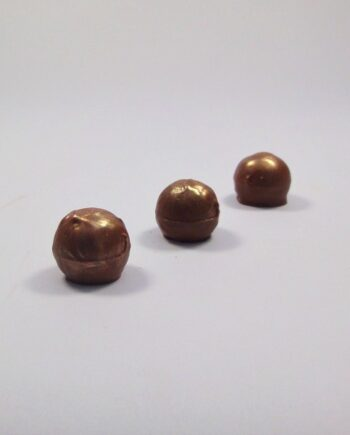 sea salt hazelnt praline chocolate truffle