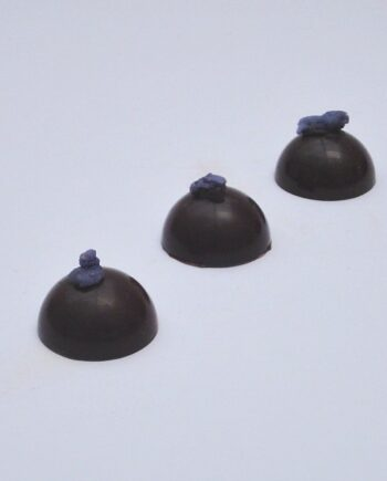 violet creams fondant chocolates row