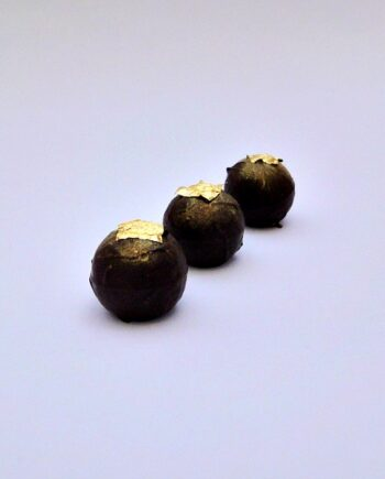 gold frankincense myrrh christmas chocolate truffle