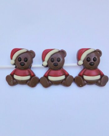christmas chocolate shish kebear