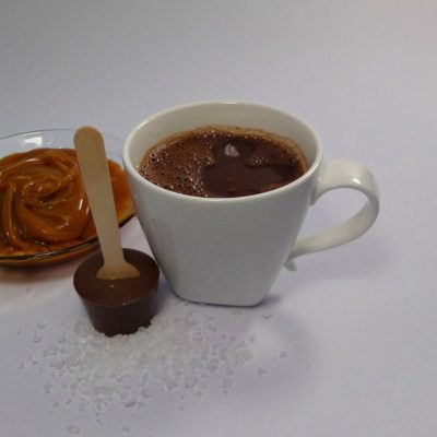 Sea Salted Caramel Hot Chocolate Spoon